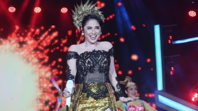 Potret Keseruan Anugerah Dangdut Indonesia Semalam