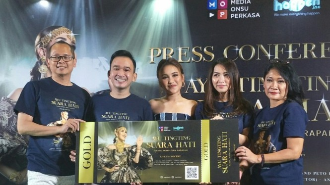 Ayu Ting Ting Siap Gelar 'Konser 10 Tahun Suara Hati Ayu Ting Ting'