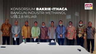 Konsorsium Bakrie-Ithaca Bangun Industri Methanol US$ 2,8M