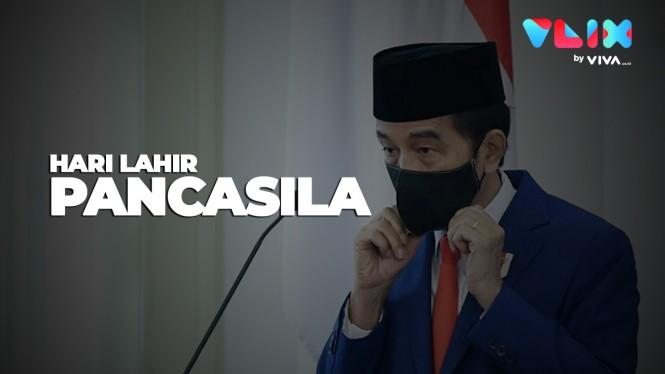 Isi Pidato Presiden Jokowi Peringati Hari Lahir Pancasila