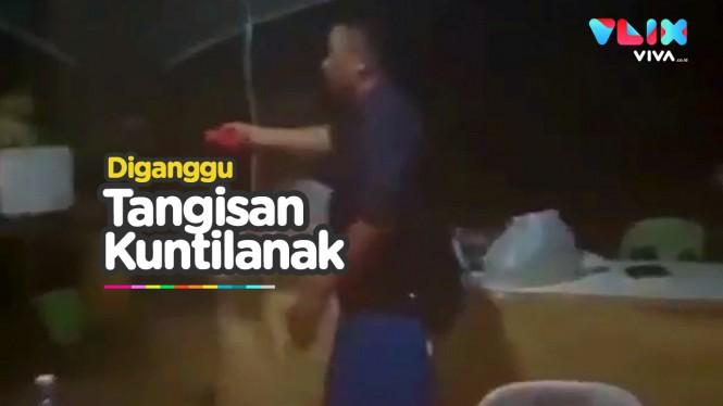 Viral Suara Tangisan Kuntilanak Ganggu Polisi di Pos Jaga