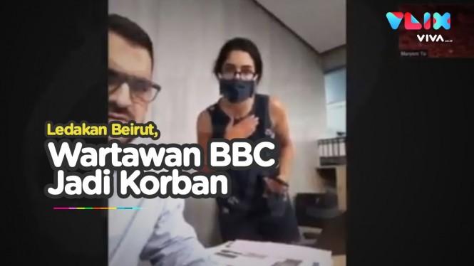 Lagi Wawancara, Wartawan BBC Jadi Korban Ledakan Lebanon