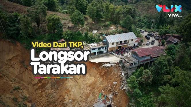 Bencana Longsor Tarakan Tewaskan Belasan Orang
