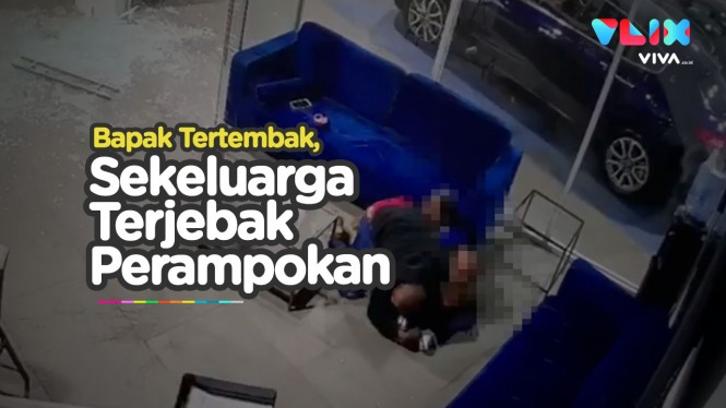 Tertembak Lindungi Anak, Keluarga Terjebak di Perampokan