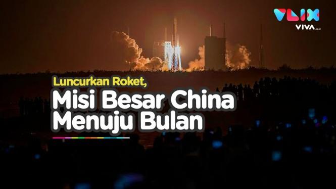 China Kirim Misi Penting ke Permukaan Bulan