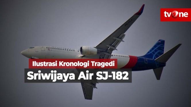 Video Ilustrasi Kronologi Tragedi Sriwijaya Air SJ-182