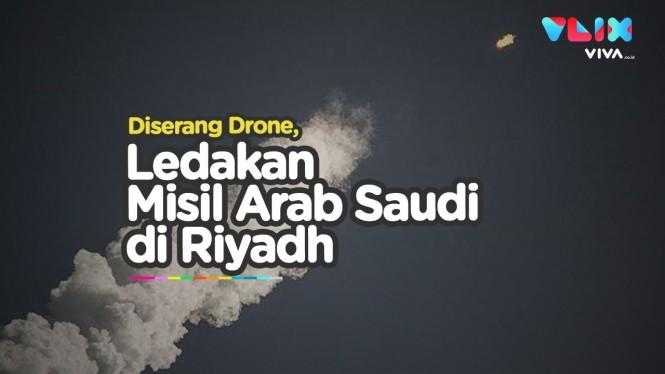 Riyadh Kaget, Drone Pemberontak Ditembak Misil Arab Saudi