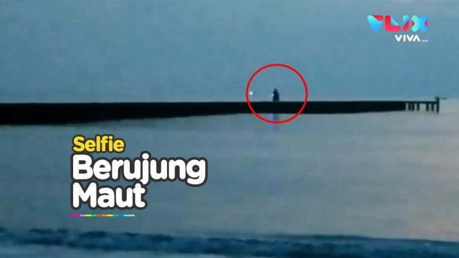Asyik Selfie, Pemuda Tewas Terjatuh ke Laut