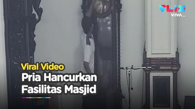 Perusakan Fasilitas Masjid Al Ikhwan Hebohkan Warganet