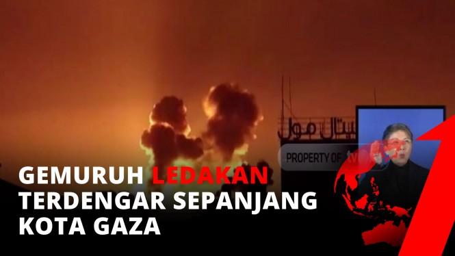 BRUTAL! Israel Masih Terus Bombardir Palestina