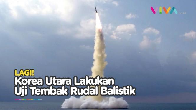 Ini Rudal Kapal Selam Terbaru Korea Utara, AS Standar Ganda?